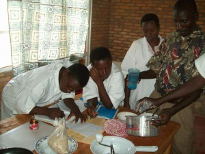3 Project Human Aid - Berufsschule  Praxis-Unterricht 02
