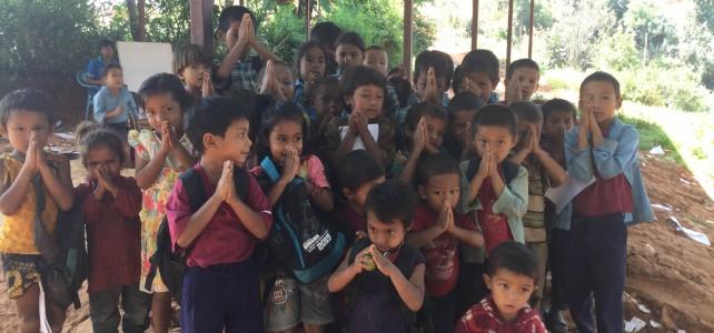 Nepal. Grundschule in Gumela