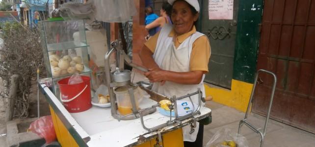 GKS Peru, Independencia - Unternehmerin
