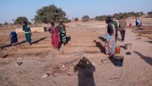 GKS-Mali Frauen auf dem Feld