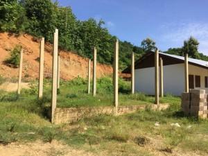 Laos, Dorf Kokmeuad - Grundschulerweiterung