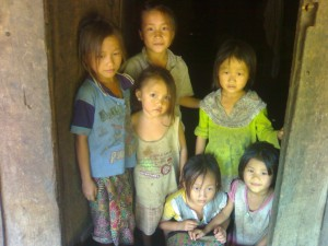 Laos Kinder in Bane Nasane