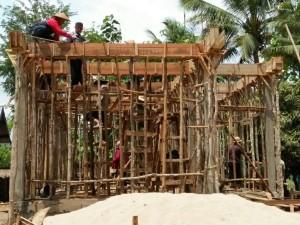 Laos - Lehrerhaus Bane Nasane