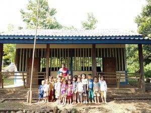 Dorfschule in Bane Nasane, Laos
