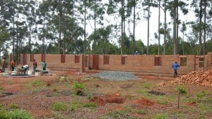 Malawi-Schulprojekt 2016-18 - Bau