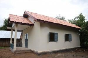 Foto Nr. 117 Die Georg Kraus Stiftung hat im laotischen Bane Nasane ein Lehrerwohnhaus erbaut, damit kein Unterricht ausfällt