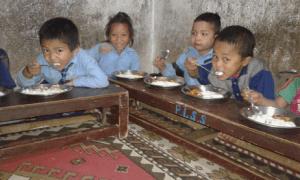 Nepal - Schulspeisung 2018 Panauti